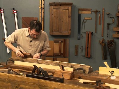 How to cut a Cove with a Molding Plane - 01