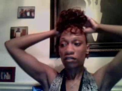 How to do a blackgirl mohawk pt.5