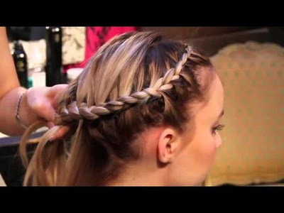 How to Do an Around-the-Head Braid