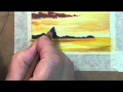 How to Erase Pastel Pencils
