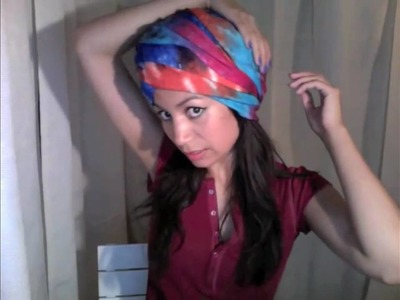 How-to Fashion Urban Turban trend style 2010 tutorial