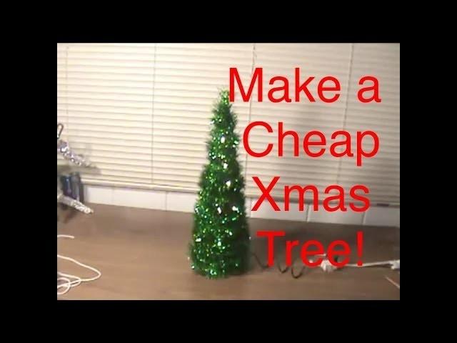 How to Make a Desk Christmas Tree!