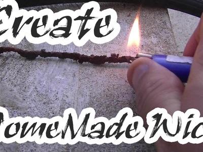 How To Make A Homemade Wick