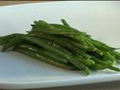 How To Make Buttered Green Beans