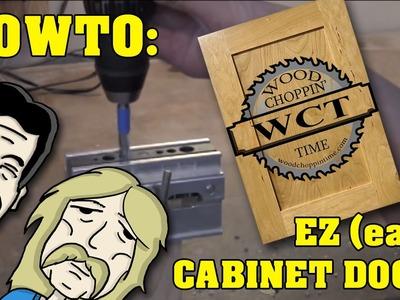 How to make (easy) EZ  cabinets doors