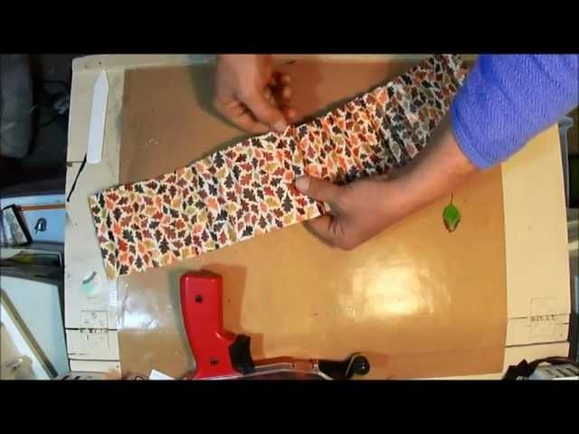 How to Make Large Paper Rosette with Martha Stewart Score Board