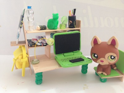 How to make LPS computer desk & accessories
