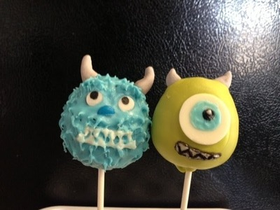 How to make Monsters Inc Cake Pops