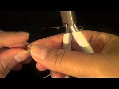 How To Make Simple Crystal Earrings
