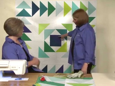 How to Make the Round Trip Quilt