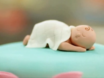 How to Prep Fondant for a Baby Figurine | Cake Decorations