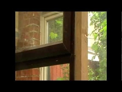 How to remove a UPVC Window