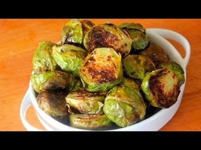 How-To Roast Brussels Sprouts - Clean Eating Recipe