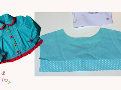 How to sew a Shirt Yoke - Megan's Rockabilly Blouse