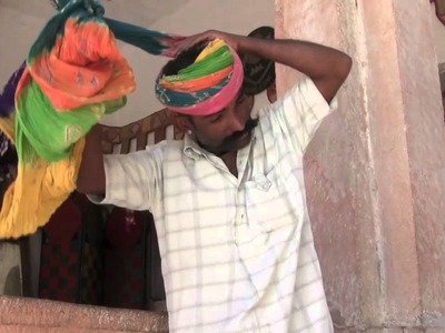 How to Wrap a Rajasthani Turban