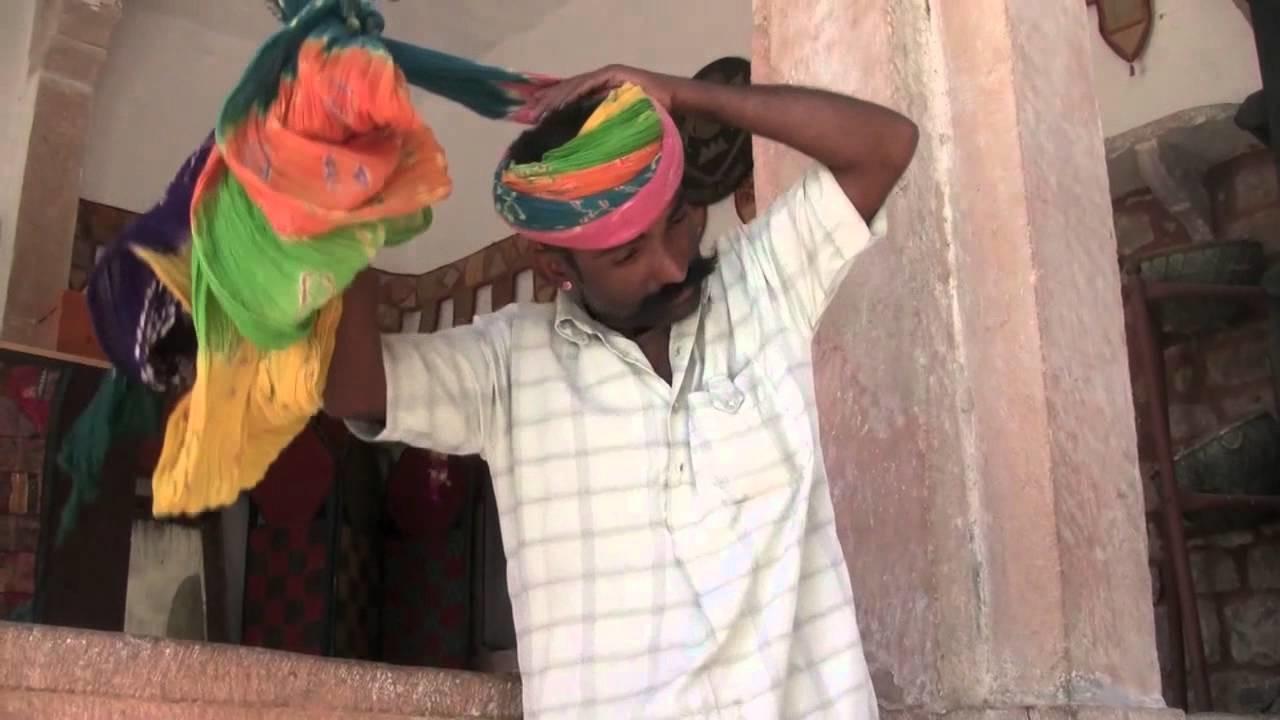 How to Wrap a Rajasthani Turban