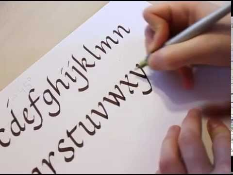 How To Write Calligraphy