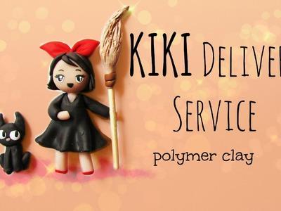 Kiki Delivery Service - Studio Ghibli Series - Polymer Clay Tutorial