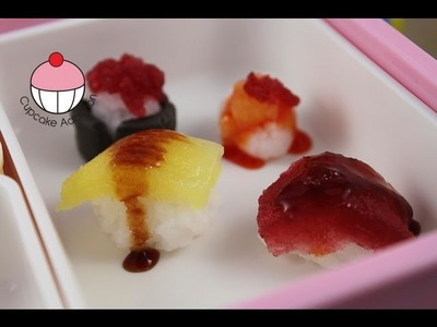 Make Candy Sushi - Popin Cooking FAIL! A Cupcake Addiction How NOT To Make Gummi Candy