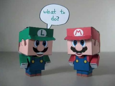 Mario Paper Friends