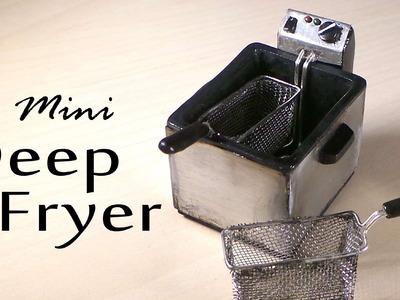 Miniature Deep Fryer - Polymer Clay Tutorial