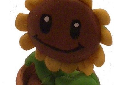 Polymer Clay Sunflower From Plants Vs Zombies