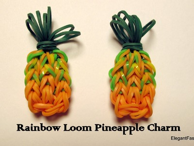 Rainbow Loom Pineapple Charm - How to