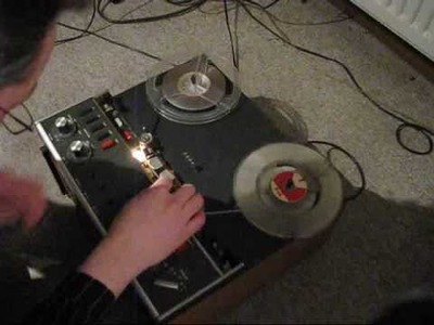 Revox A77: How to create a reel-to-reel tape loop