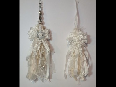 Shabby Chic Lace Tassel Tutorial