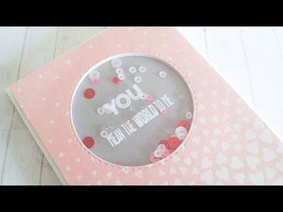 Simple & Easy Shaker Card - CAS #2