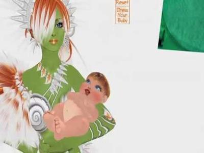 SL Carrot House Babies -Orange DRESS HUD Tutorial
