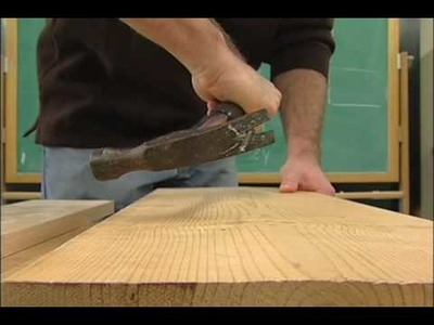 SUNY-ESF. How to Use a hammer