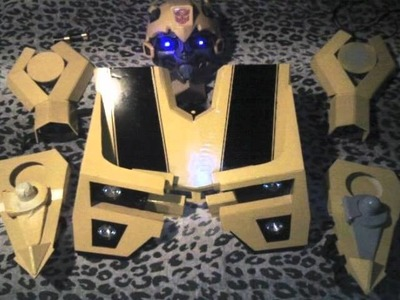 The Making of My Transformers Bumble Bee Costume.wmv