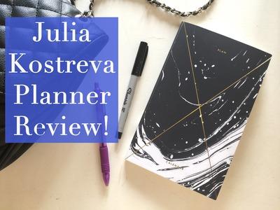 The Most Beautiful Planner! Julia Kostreva Agenda Review!