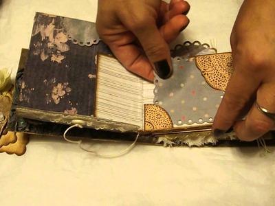 Toilet Paper Roll Mini Album In A Box (Victorian Family Theme) Kat & Junebug Class T.P. MINI ALBUM