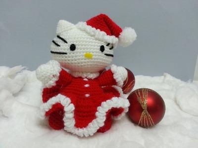 Tutorial amigurumi Hello Kitty Noel - Montaje (English subtitles)