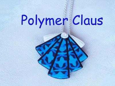 Una conchiglia blu (polymer clay tutorial)
