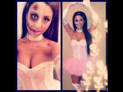 Zombie Ballerina Halloween Tutorial (Forplay Costumes)