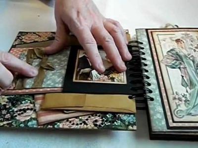 A Ladies' Diary 8 x 8 Chipboard Mini Album