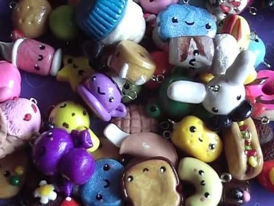 ❤ All of My Polymer Clay Charms ❤