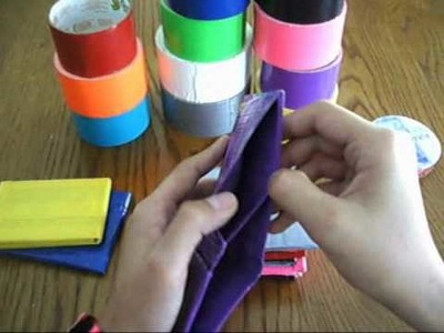 ARA Custom duct tape wallets for sale!