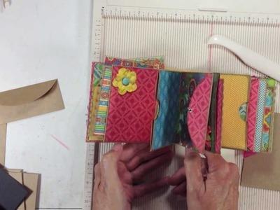 Bohemian Bazaar Envelope Page Tutorial