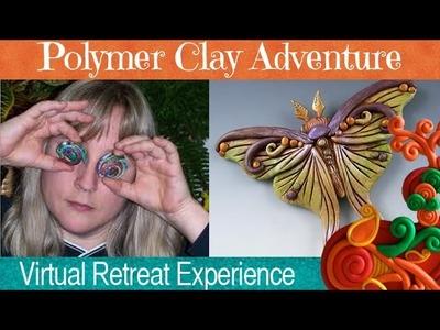 Christi Friesen is teaching at Polymer Clay Adventure Retreat 2015