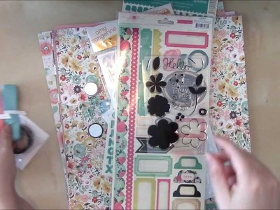 Crop and Create: Delivered Spring Kit Contents Video with Jen Gallacher