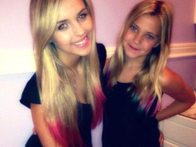 Dip dye hair for summer! DIY
