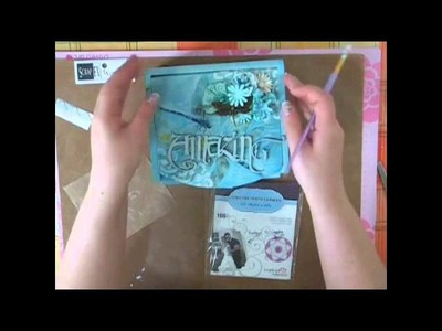 Dry Decoupage (Without wrinkles) Altered Vanity Box Mixed Media Tutorial with Adhesive Sheets