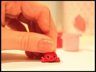 ◕‿◕ Crab! Kawaii Friday 29 (Tutorial in Polymer Clay)