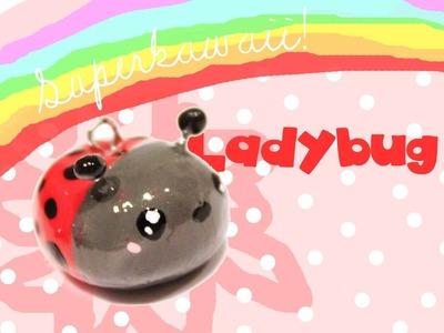 ◕‿‿◕ Ladybug! Kawaii Friday 55 (Tutorial in Polymer Clay)
