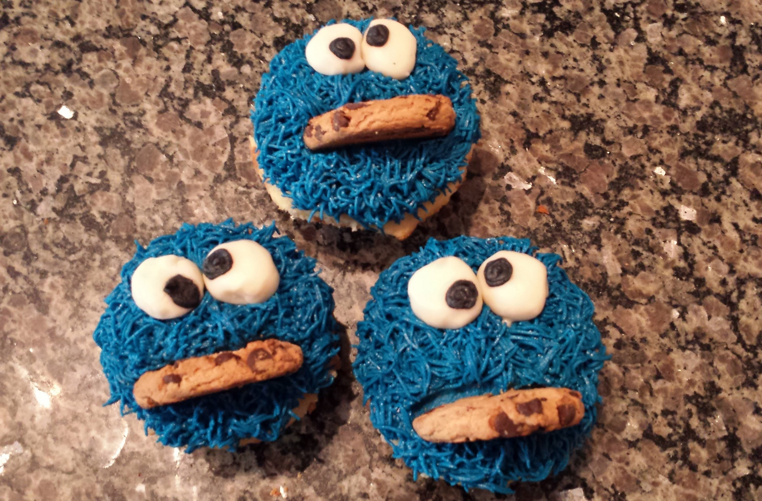 Make these Cookie Monster Cookies for a little person in your life My nospread cut out cookie recipe will be sure to be a hit all year long as well!