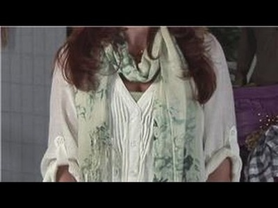 Fashion Basics : How to Drape a Scarf